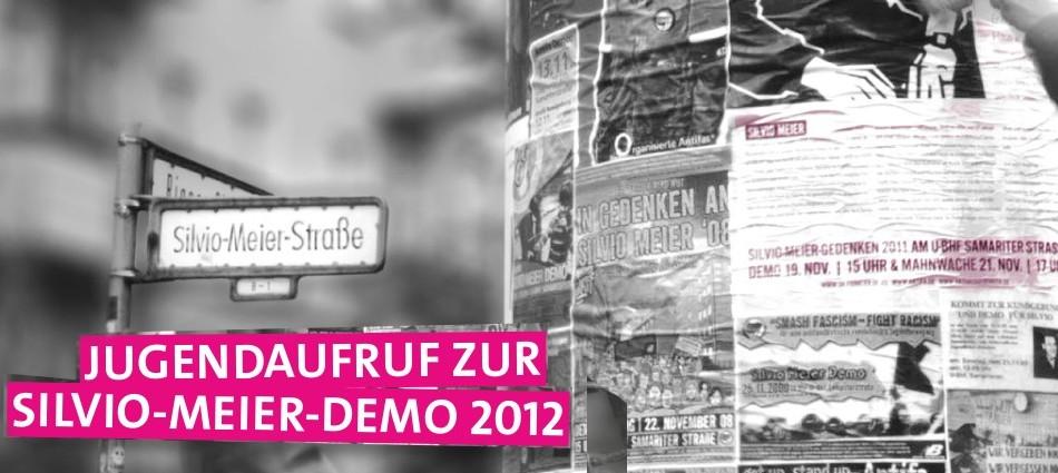 Jugendaufruf: Hinaus zur Silvio Meier Demo